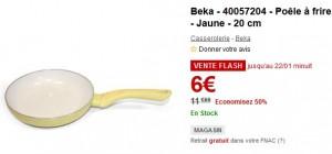 Poêle à frire revêtement céramique Beka 20cm à seulement 6 euros au lieu de 11,99 euros
