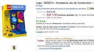 Montre Creator Lego à seulement 7,49 euros au lieu de 30 euros – Deuxième démarque AMAZON