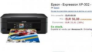 Imprimante jet d'encre multifonction Epson Wifi/USB qui vous reviendra qu'a 46 euros (promo + ODR de 10 euros)
