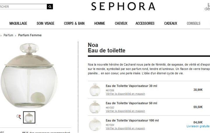 Parfum Noa Cacharel Sephora Wwwattractifcoiffurefr