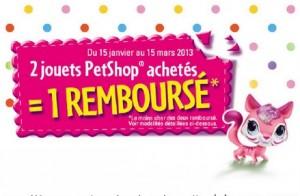ODR:  2 PetShop achetés = 1 PetShop 100% remboursé - Hasbro