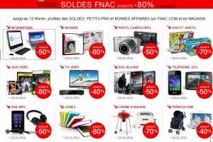 soldes LA FNAC