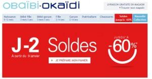 soldes OKAIDI OBAIBI 2013