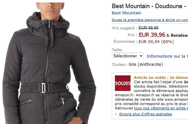 100 La Moins Euros De 40 Doudoune Lieu Mountain Best Au 1ZqHCPzZw
