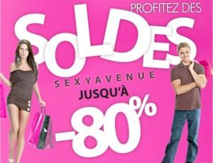 Soldes : jusqu'à moins 80% sur la lingerie, sextoys et autres chez SexyAvenue