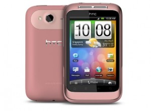 soldes smartphone HTC wildfire s rose debloque a seulement 149 euros