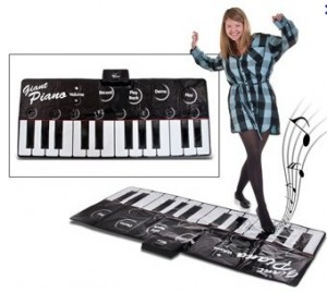 tapis piano geant