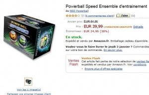 VENTE FLASH ! Kit d'entrainement Powerball Speed à seulement 39,99 euro au lieu de 64,95 euro !