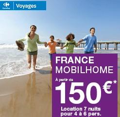 150 euros les 7 nuits en Mobil home sur la côte méditerranée, océan, corse…