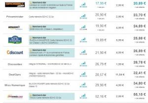 Carte SDHC EMTEC 32 Go au plus bas prix en ce moment