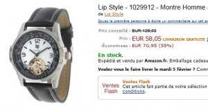 Montre Homme Lip - Automatique VENTE FLASH