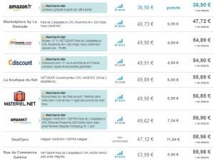 Pack de 2 adaptateurs CPL Netgear Nano moins cher que sur les autres sites