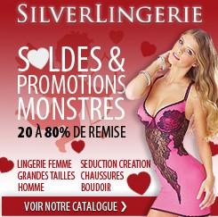 Saint Valentin silverlingerie Lingerie