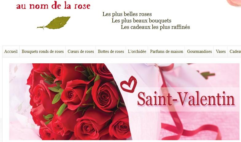 Fleurs pas ch res pour la saint valentin for Fleurs livrees pas cheres