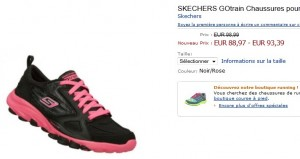 Skechers Go Train 13507 au plus bas prix