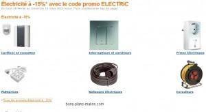 CODE PROMO AMAZON ! Moins 15% sur matériels Électrique (Multiprises, Interrupteurs, Prises, Rallonges…)