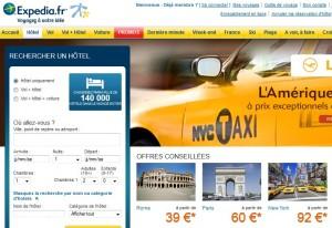 Code Promo Hôtel ! 10% de réduction sur les Hôtels sur Expedia.fr