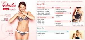 Code promo moins 15% sur la lingerie chez Auchan (spécial Saint Valentin)