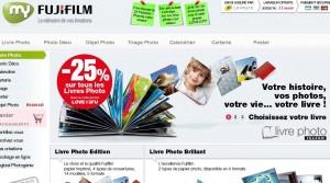 Code promo -25% sur les livres photos plus livraison gratuite chez MyFujiFilm