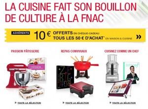 FNAC 10 euros offerts tous les 50 euros d'achats – Exclu adhérent