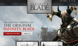 Gratuit jeu Infinity Blade pour iPhone et iPad (1 semaine seulement)