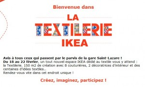 IKEA confection textile gratuite à Paris