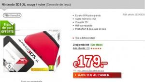 Le plus bas prix ! Nintendo 3DS XL à 179 euros (port inclus)