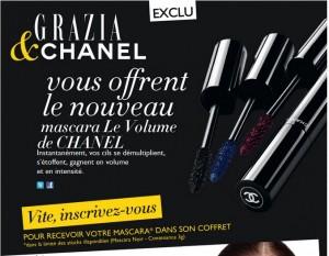 Mascara Chanel Le Volume gratuit