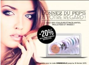 Code promo maquillage chez ELF (EyesLipsFace)