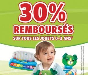ODR Leapfrog : 30% remboursés sur les jouets 0 -3 ans
