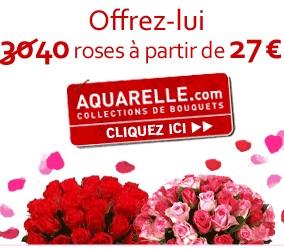 Fleurs St Valentin bon plan