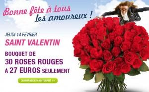 pas chere Saint Valentin Fleurs Florajet