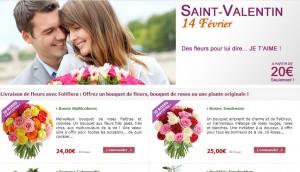Fleurs pas cheres a Domicile