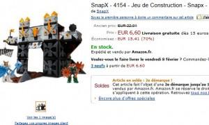 Soldes ! Jouet Tourelle de Défense Snap-X à seulement 6,60 euros
