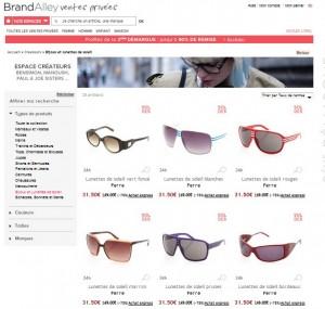 Soldes lunettes de soleil Gianfranco Ferré à 35 euros au lieu de 149 euros