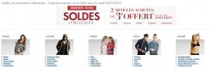Super code promo Amazon 2 articles en soldes achetés = le troisième gratuit