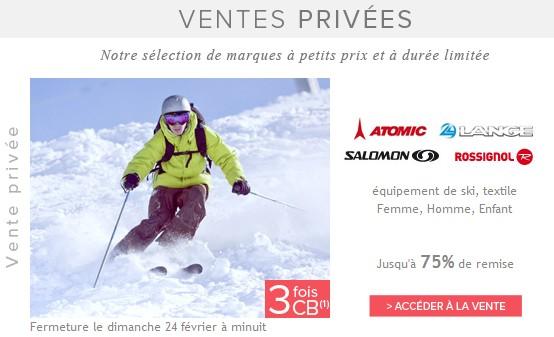 Jusqu'à moins 70% Ski, Lunettes, Casque, chaussures… Rossignol, Atomic, Salomon…