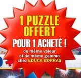 1 puzzle offert