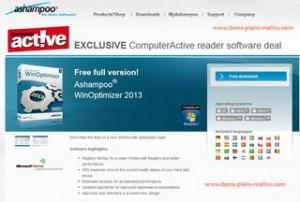 Gratuit Ashampoo WinOptimizer 2013 version complète