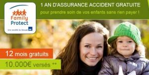 Assurance Accident gratuite et sans engagement
