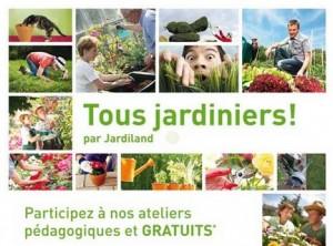 Ateliers jardinage gratuits en magasin Jardiland