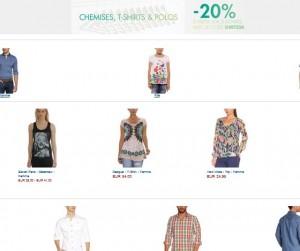 Code promo Amazon : 20% sur T-Shirt, Polos et Chemises