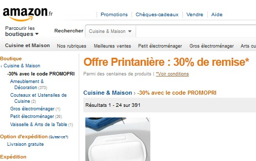 AMAZON CODE DE REDUCTION