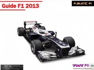 GRATUIT : Guide Formule 1 2013 (à télécharger)
