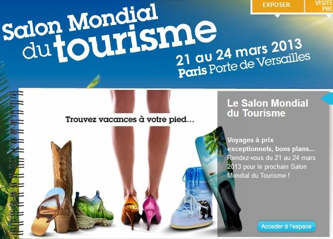 Invitation gratuite salon mondial du tourisme de paris for Salon mondial du fitness
