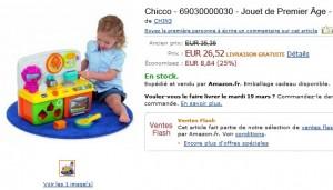 Ma Cuisine Parlante Bilingue Chicco à seulement 26,52 euros (port inclus)
