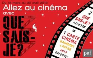 Carte Gaumont /Pathé : 1 place achetée = 1 place offerte