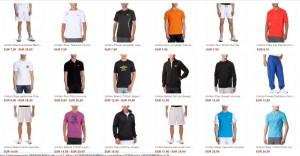 Soldes Umbro T-shirt à partir de 7,50 euros chez Amazon (70% reduction)