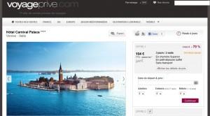 Vacances de Pâques à Venise dans hôtel 4 Etoiles à partir de 104 euros !
