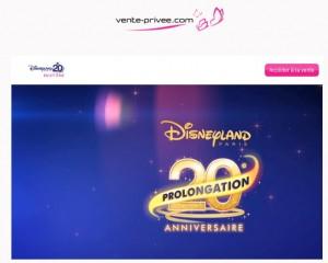 Vente Privee DisneyLand